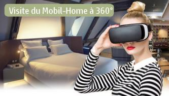 Visite Virtuelle Mobil Home Lodge 2 Chambres